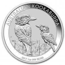 Австралия 1 доллар 2017. КУКАБУРРА.Серебро.ПРУФ