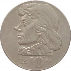 10 злотых Польша 1971