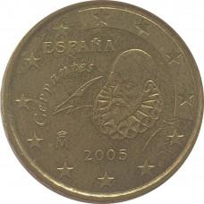 10 евроцентов Испания 2005