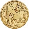 1 доллар 2019 Американские индейцы в космической программе - Индианка САКАГАВЕЯ