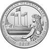 25 центов США 2019 Американский Мемориальный Парк. 47-Й ПАРК. Двор D