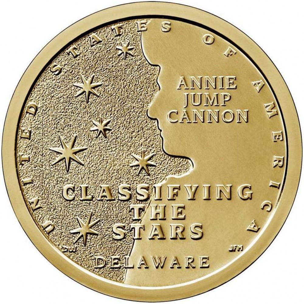 1 доллар 2019 Американские Инновации №2 - Энни Джамп Кэннон, Классификация звезд