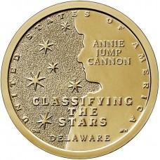 1 доллар 2019 Энни Джамп Кэннон (Делавэр) - Американские Инновации, Классификация звезд