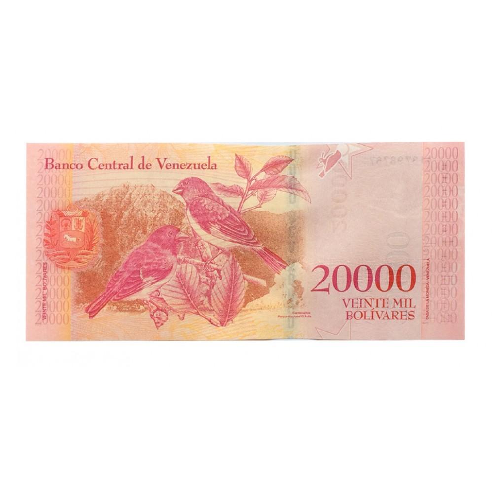 Венесуэла .20000 боливар.2017.UNC