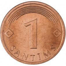 1 сантим 1992-2013 Латвия