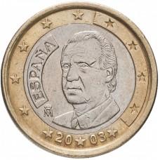 1 евро Испания 2003