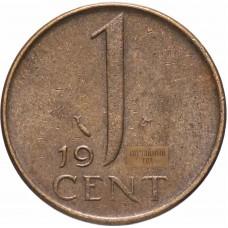 Нидерланды 1 цент 1949-1980