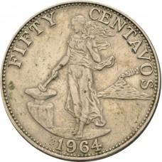 10 сентаво Филиппины 1964