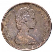 1 цент Канада 1965-1989