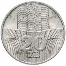 20 злотых Польша 1973-1976