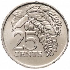 25 центов Тринидад и Тобаго 1976-2016