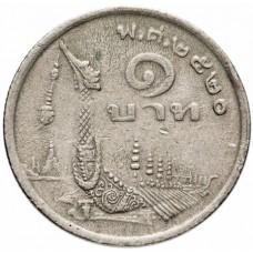 1 бат Таиланд 1977