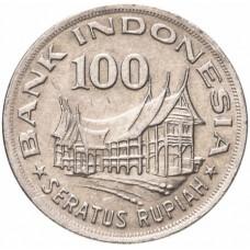 100 рупий Индонезия 1978