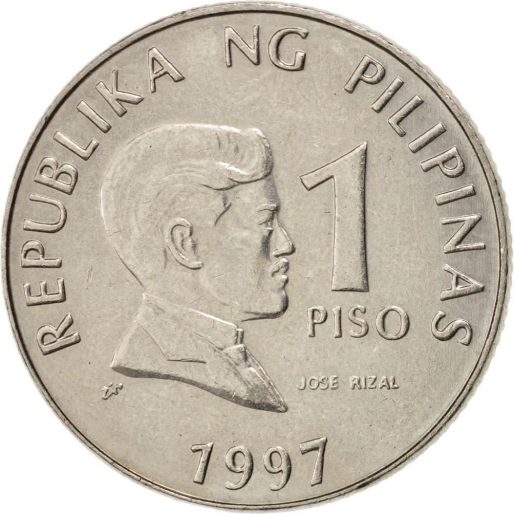 1 писо 1995-2003 Филиппины