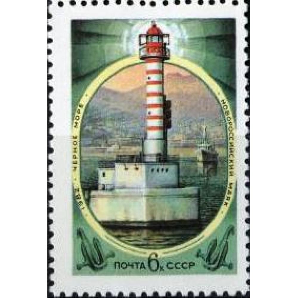 1982 Маяки Черного и Азовского морей.Новороссийский маяк