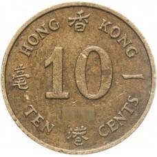 10 центов Гонконг 1982-1984