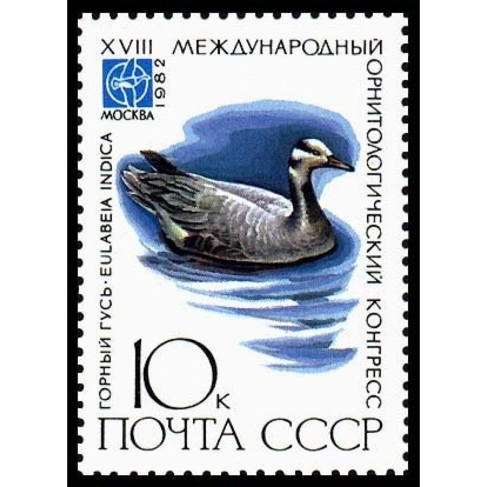 1982 XVIII Международный орнитологический конгресс.Горный гусь