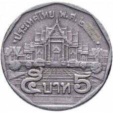 5 бат Таиланд 1988-2008