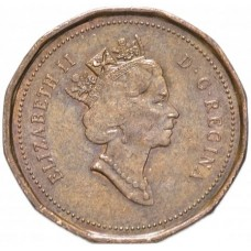 1 цент Канада 1990-2003