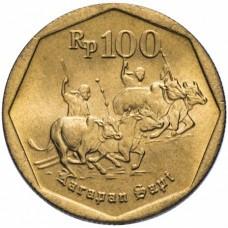100 рупий Индонезия 1991-1998