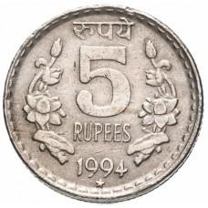 Индия 5 рупий 1992-2004
