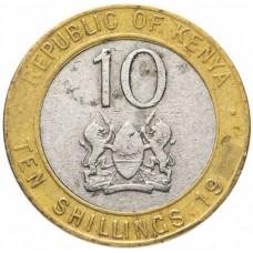 Кения 10 шиллингов 1994-1997
