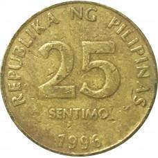 25 сентимо Филиппины 1995-2003