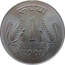 1 рупия Индия 1998-2002