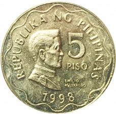 5 писо Филиппины 1998