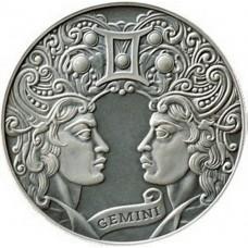 1 рубль Близнецы - 2014 год Беларусь, Зодиакальный гороскоп