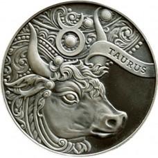 1 рубль Телец - 2014 год Беларусь