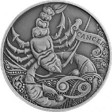 1 рубль Рак - 2015 год Беларусь, Зодиакальный Гороскоп