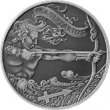 1 рубль Стрелец - 2015 год Беларусь, Зодиакальный Гороскоп