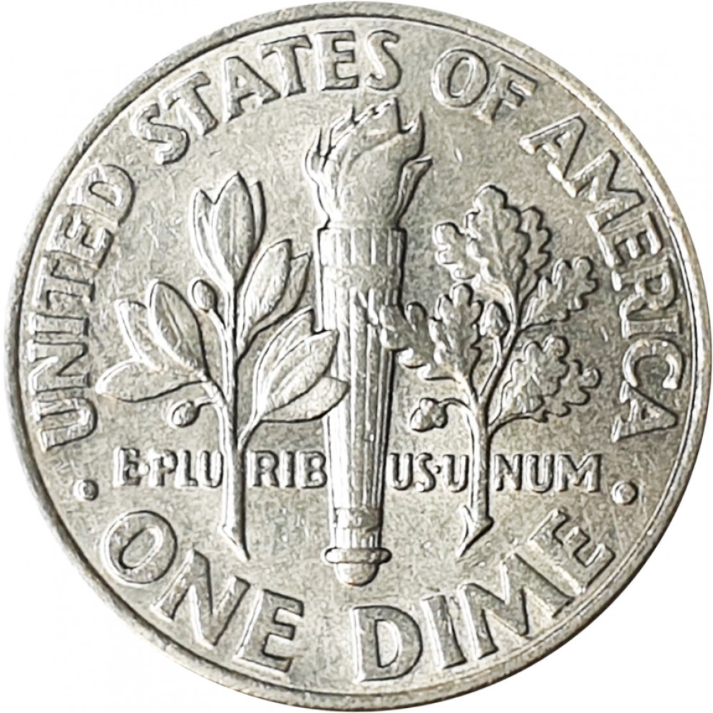 1 дайм США 1973