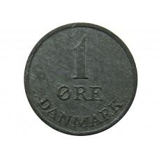 1 эре 1948-1972 Дания  (DANMARK)