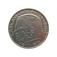 Швеция, 1 крона 1982-2000, Карл XVI Густав