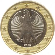 2 евро Германия 2002