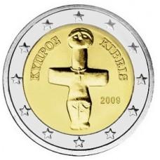 2 евро Кипр 2009