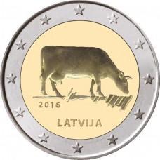 2 Евро 2016 Латвия - Корова, XF+