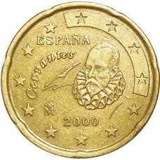 10 евроцентов Испания 2000