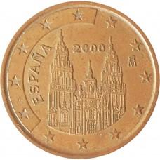 5 евроцентов  Испания 2000