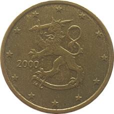 10 евроцентов Финляндия 2000