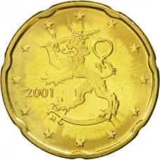 20 евроцентов Финляндия 2001