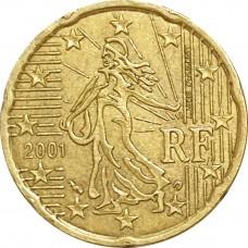 10 евроцентов Франция 2001