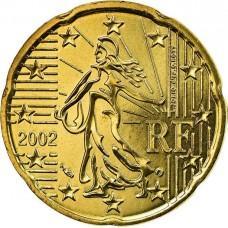10 евроцентов Франция 2002