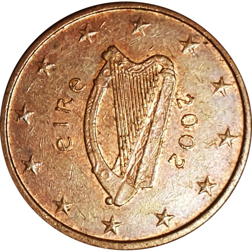 5 евроцентов Ирландия 2002