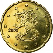 20 евроцентов Финляндия 2002