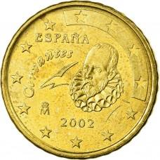 10 евроцентов Испания 2002