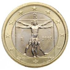 1 евро Италия 2002