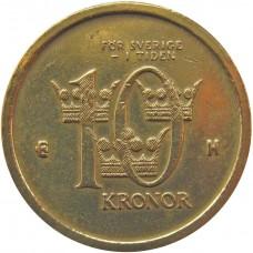10 крон 2003 Швеция, Карл XVI Густав